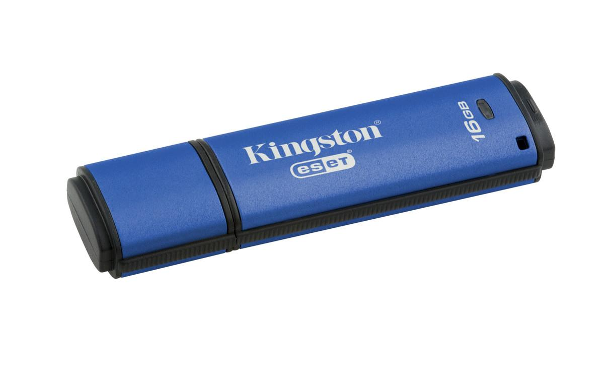 Kingston 16 GB DataTraveler Vault Privacy AV USB 3.0 Flash Disk DTVP30AV/16GB