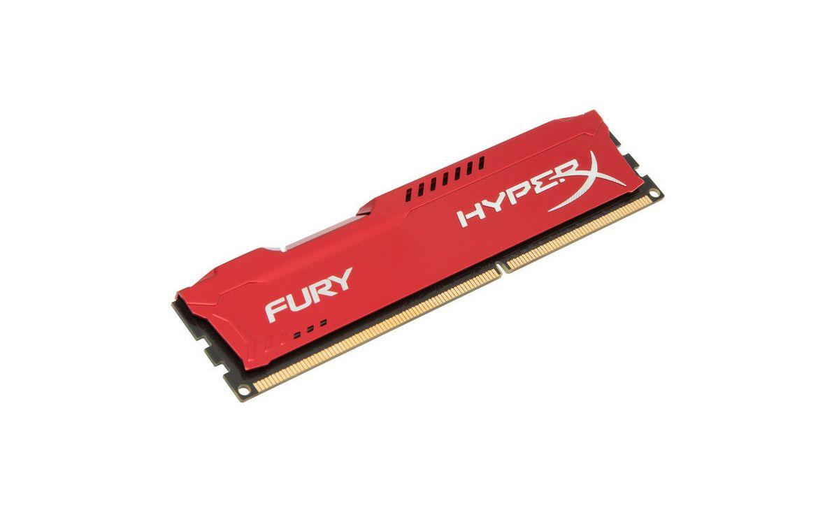 Kingston HyperX FURY Red 8 GB DDR3 1866 MHz Bellek HX318C10FR/8