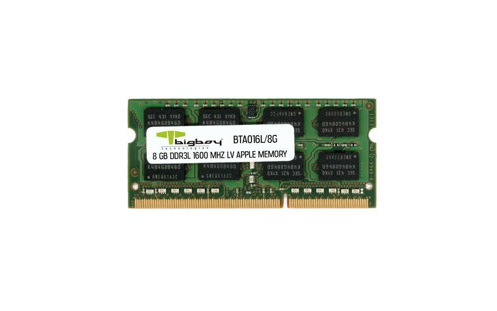 Bigboy Apple 8 GB DDR3 1600 MHz CL11 LV Notebook Rami BTA016L/8