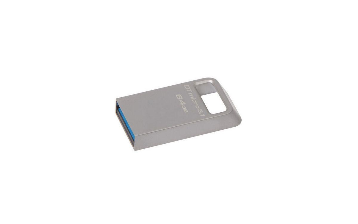 Kingston 64 GB DataTraveler Micro USB 3.1 Flash Disk DTMC3/64GB