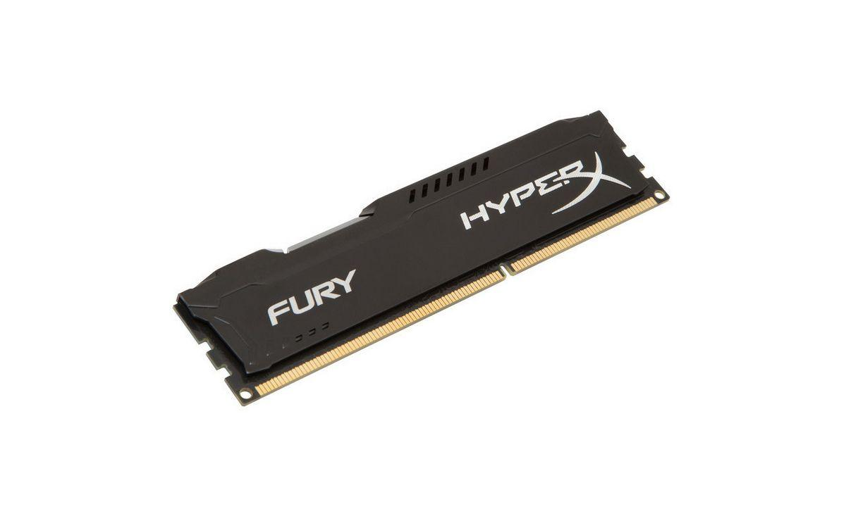 Kingston Hyperx FURY Black 4 GB DDR3L 1600 MHz Bellek HX316LC10FB/4