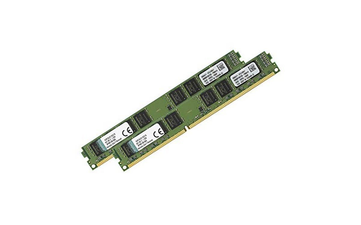 Kingston 16 GB DDR3L 1600 MHz CL11 LV Masaüstü Belleği Kit(2x8) KVR16LN11K2/16