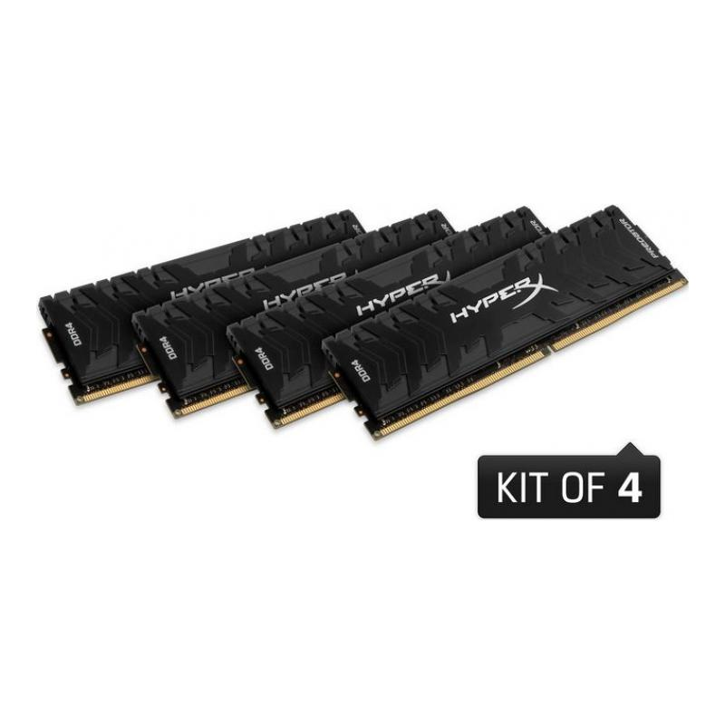 kingston-hyperx-predator-32gb-ddr4-3000mhz-cl15-performans-ram-kiti-4x8gb-hx430c15pb3k432