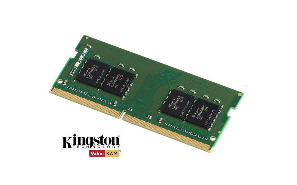 Kingston 8 GB DDR4 2400 MHz CL17 Notebook Rami KVR24S17S8/8