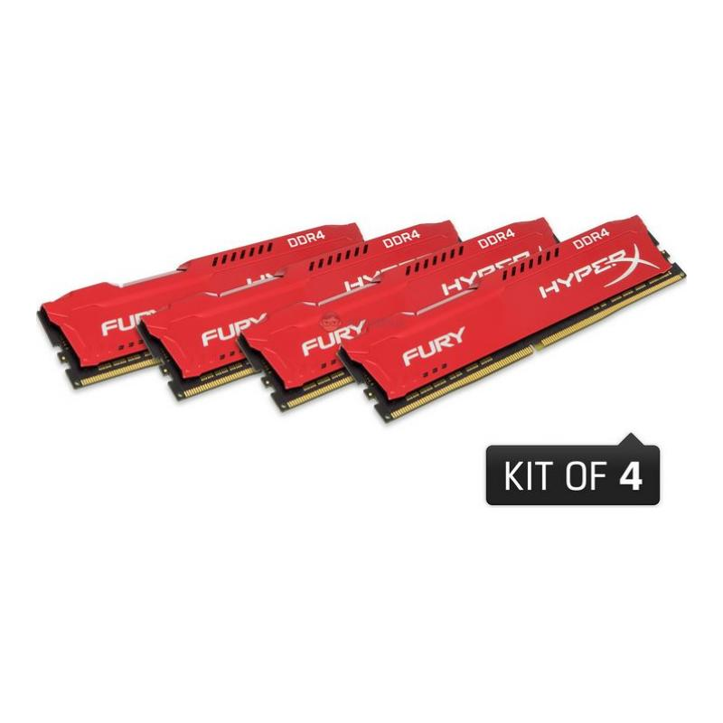 kingston-hyperx-fury-32gb-ddr4-2666mhz-cl16-performans-ram-kiti-4x8gb-hx426c16fr2k432