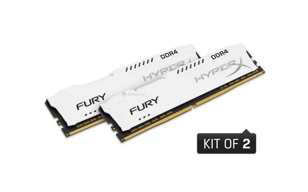 Kingston Hyperx FURY 32 GB DDR4 2400 MHz CL15 Performans Ram Kiti (2x16GB) HX424C15FWK2/32