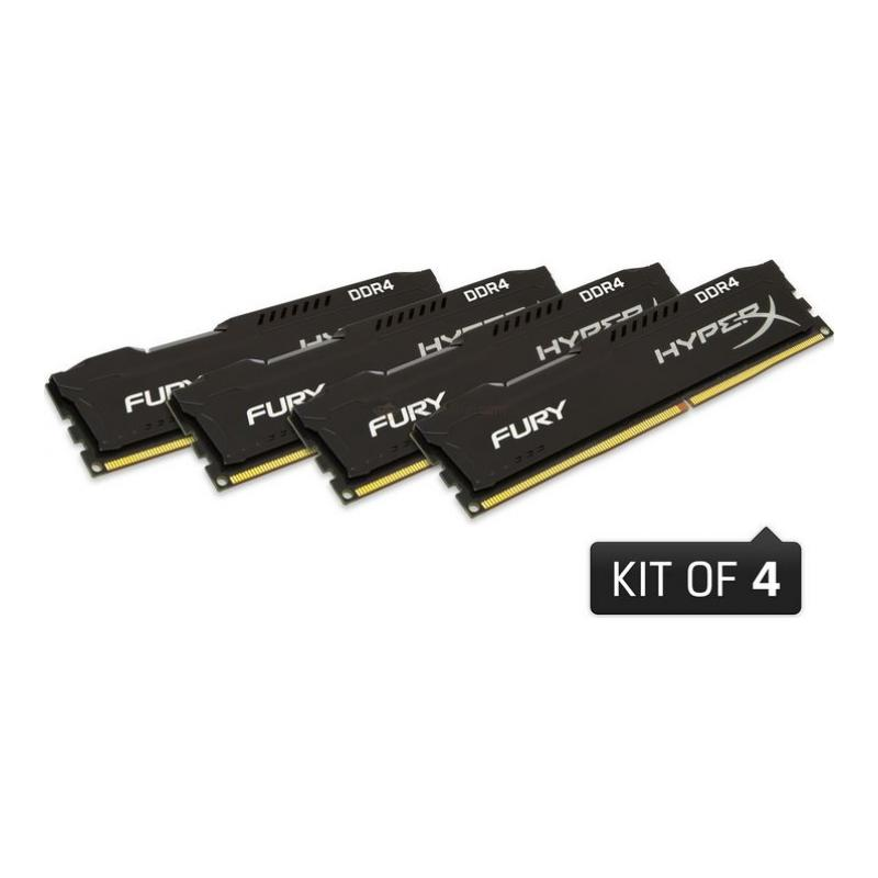 kingston-hyperx-fury-32gb-ddr4-2666mhz-cl16-performans-ram-kiti-4x8gb-hx426c16fb2k432