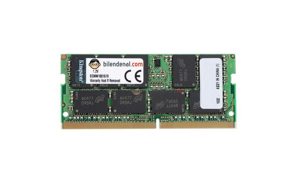 Kingston 8 GB DDR4 2400 MHz CL17 ECC Sodimm Server Rami KVR24SE17S8/8