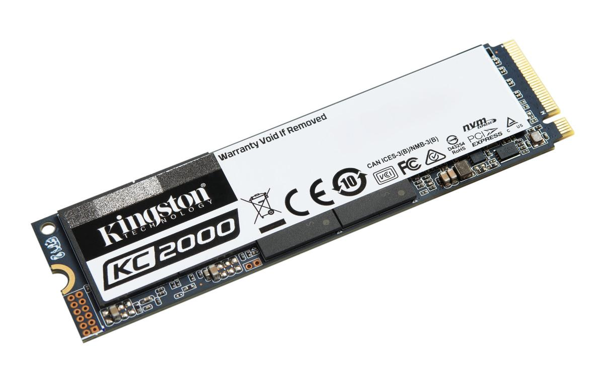 Kingston KC2000 250 GB 22x80mm PCIe 3.0 x4 M.2 NVMe SSD SKC2000M8/250G
